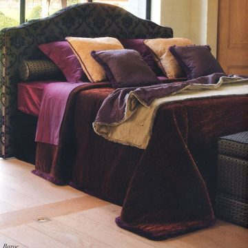 LIQUID KYOTO_color Copper_Bed Cover with Tying the Knot pillows1_preview