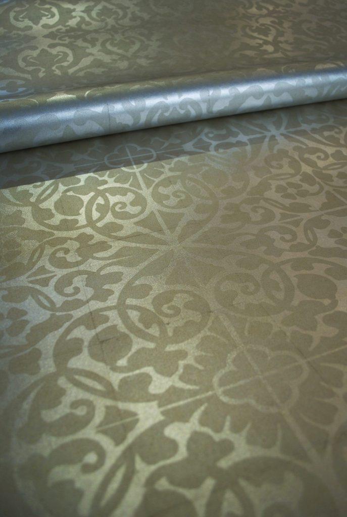Surfaces-Printed Metal Leaf