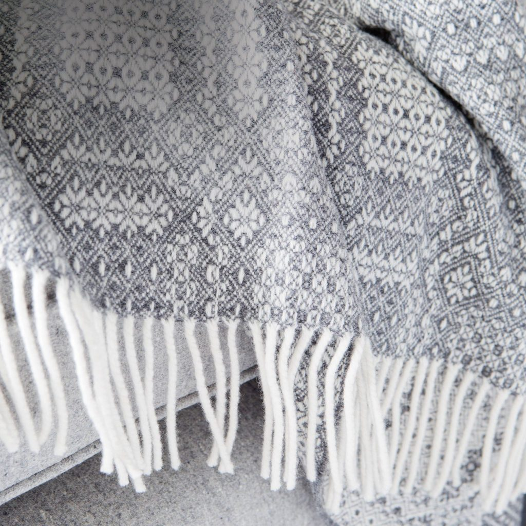 Lambswool Folkloric Throw