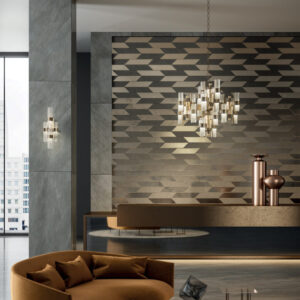 Studioart_Continental in Watersuede 415, Tesoro rame designed by Grove Studio