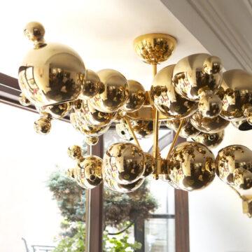 BUBBLES GOLD chandelier-4