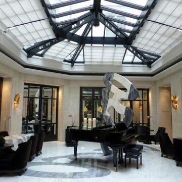 OCEANIDE wall sconces - Le Burgundy Hotel Paris
