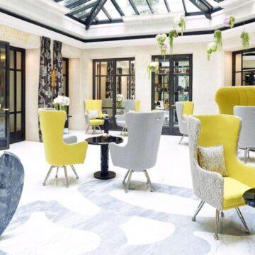 OCEANIDE wall sconces - Le Burgundy Hotel Paris-4